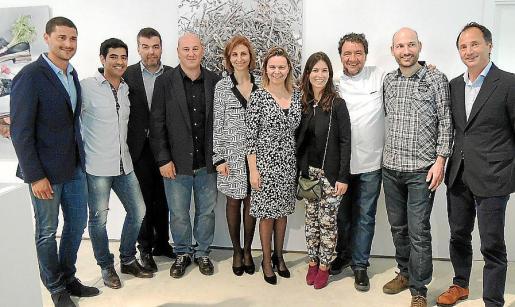 Nando Esteva, Andreu Genestra, Miquel Àngel Barrios, Tomeu Caldentey, Rosa Tarragó, Maria Salom, Marta Rosselló, Koldo Royo, Joan Marc y Toni Albadalejo.