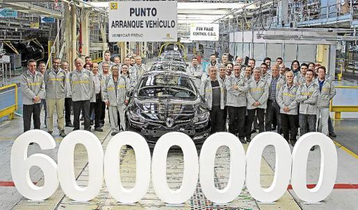 En la actualidad la planta produce en una única línea de fabricación toda la familia Mégane.