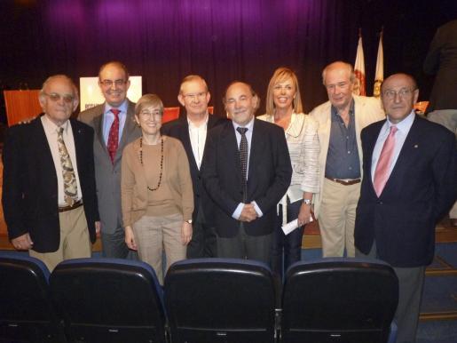 Antón Chacártegui, Felipe Baza, Katrin Terrassa, Pancho Roses, Bernat Felíu, Queta Romaguera, Jaime Enseñat y Jeroni Sainz.