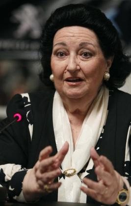 Montserrat Caballé, en una imagen de archivo.