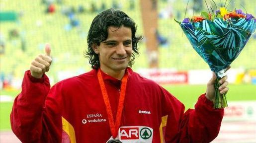 Fotografía de archivo tomada el 26/08/2004 del exsaltador de longitud Yago Lamela, de 36 años.