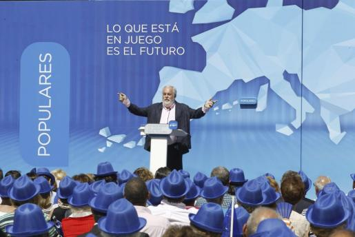 El cabeza de lista del PP a las elecciones europeas, Miguel Arias Cañete.