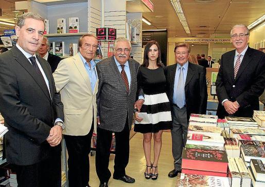 Josep Maria Ramis, Miguel Soler, Pere A. Serra, Irene Mus, Joan Fageda y Pedro Comas.