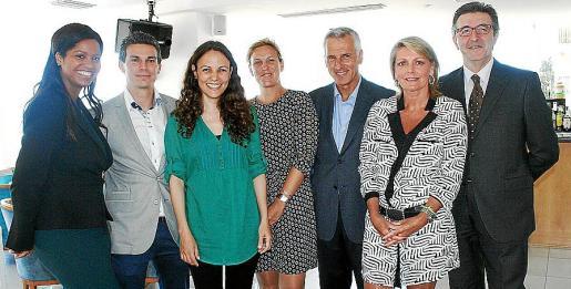 Maribel Rincón, José María Gilgado, Silvana Caló, Marga Rubí, Juan Alguersuari, Joanne Hawcross y José Francisco Ibáñez.