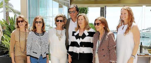 Martina Torres, Marita March, María José Barceló, Mateo Isern, Carmen Fuster, Antonia Gelabert y Corinna Graf.