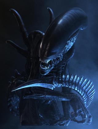 Un fotograma de la película Alien.