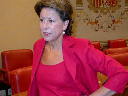 Magdalena Álvarez, en una imagen de archivo.