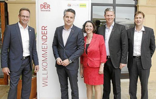 palma El presidente del grupo turístico alemán DER Touristik (REWE), Soren Hartmann, presenta los proyectos de expansión en Mallorca. foto miquel a. cañellas