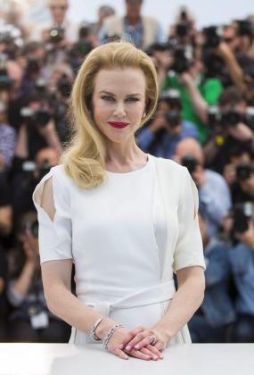"""La actriz Nicole Kidman posa durante el pase gráfico de """"Grace de Mónaco"""""""