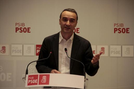 El candidato Pere Joan Pons.