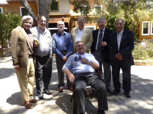 Guillermo Borrás, Futi Marqués, Josep Grimalt, Fernando Dodero, Toni Cardell, Fernando Mulet y Pau Calvo.