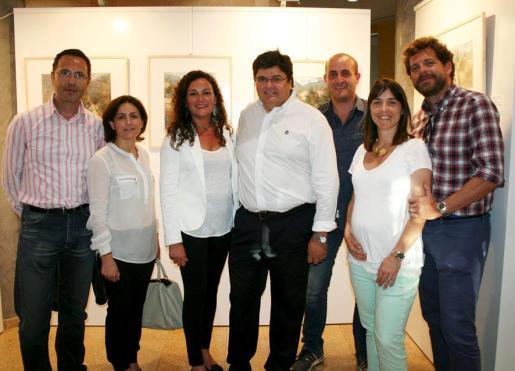 Juan Saurina, Fanny Bergas, Aina Perelló, Llorenç Gual, Emanuelle Scorziello, Aina Salom y Pere Mancha.