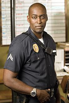 Micheal Jace en una imagen de archivo de la serie «The Shield»