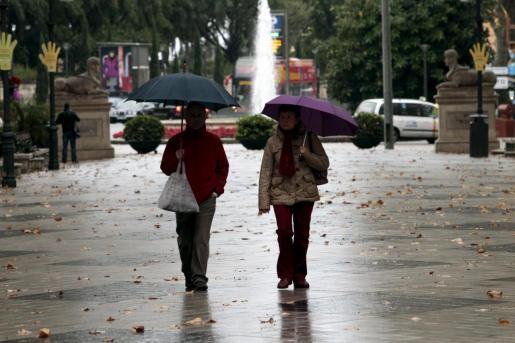 Mallorca continúa en alerta naranja por fuertes lluvias.