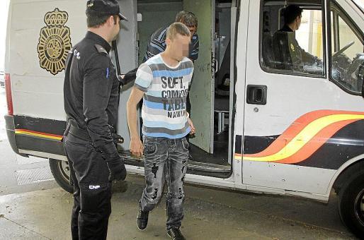 En la tarde de ayer, el detenido fue puesto a disposición judicial.