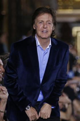 Paul McCartney, en una imagen de archivo.