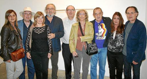 Caterina Torrilla, Juanjo Marco, Cati Ferrando, Ramon Canet, Ángel Terrón, Esther Olóndriz, Pep Coll, María Carbonero y Rafa Forteza.
