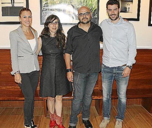 Joana Marí, Elena Ballestero, Curro Viera y Biel Perelló.
