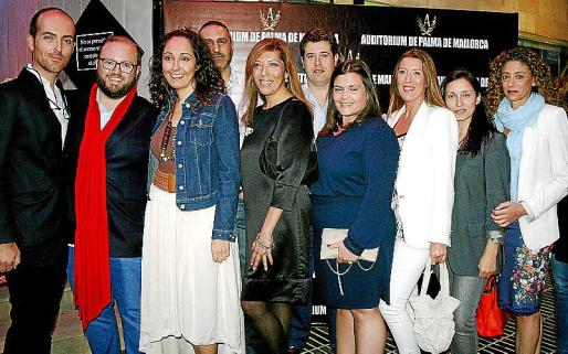 Juan Ferragut, Tommy Ferragut, Vanessa Sánchez, Jaime Reina, Gema Muñoz, Javier Vidal, Ana Méndez, María Navalón, Amada Salvá y Mercedes Martínez.