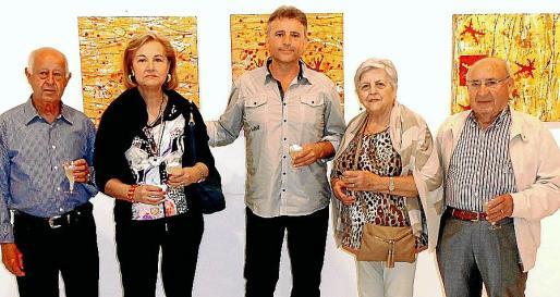 Xim Serra, Miquela Cladera, Josep Maria Alaminos, Catalina Terrassa y Miquel Pons.