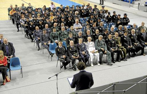El alcalde de Palma alabó el trabajo de la policía para garantizar la normalidad del día a día en la ciudad.