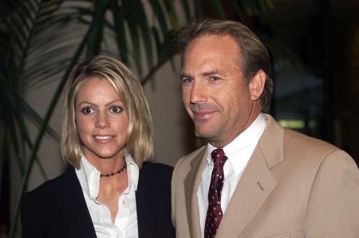 El actor Kevin Costner y su segunda esposa Chrsitine Baumgarten, en una imagen de archivo.