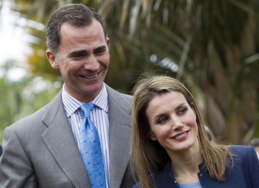 Felipe de Borbón y Letizia Ortiz, en una imagen de archivo tomada el pasado mes de enero.