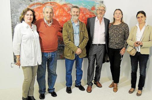 Maria Magdalena Marimón, Biel Perelló, Joan Costa, Herbert Hundrich, Ursula Hundrich y Caterina Bonnin.