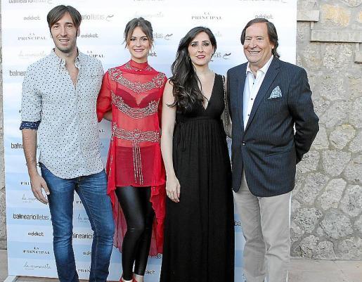 Xisco Llompart, Ana Garau, Carmen Llompart y Guillermo Llompart.
