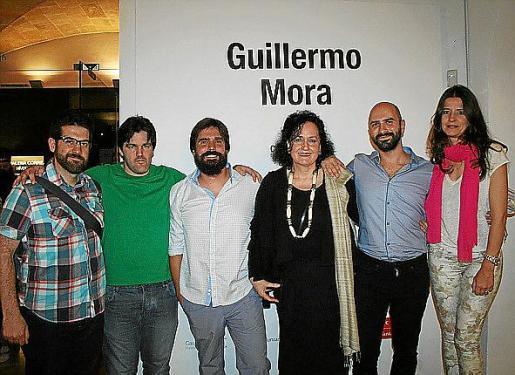 Pau Waelder, Pau Bejarano, Fernando Gómez de la Cuesta, Pilar Ribal, Guillermo Mora y Sara Espinosa.