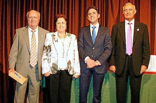 Lorenzo Femenías, Carmen Blanch, José Antonio Galdón y Juan Ribas.