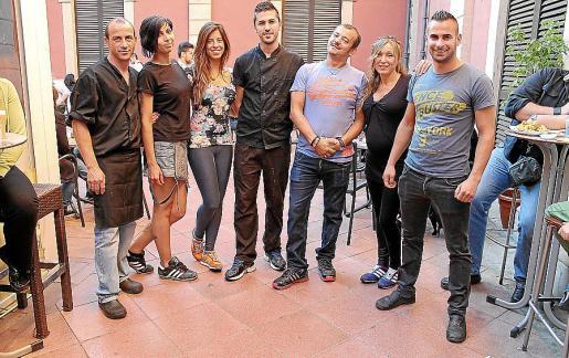 Angel Luis Prieto, Ana Gálvez, Alejandra Jover, David Gallardo, Vicente Sánchez, Ana Bernal, Pedro Salvà.