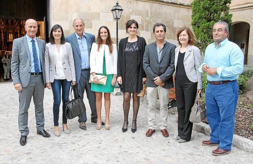 Antoni Pastor, Sebastiana Sureda, Francisco Mateu, Maria Magdalena Sureda, Francisca Rufiandis, Antoni Sureda, Catalina Sureda y Rafel Nicolau.