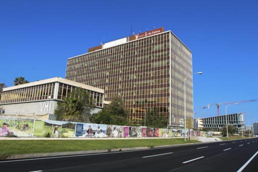 Vista general del edificio Gesa del Paseo Marítimo de Palma.