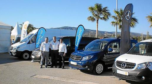 Mercedes ofrece una gama de vehículos comerciales muy completa.