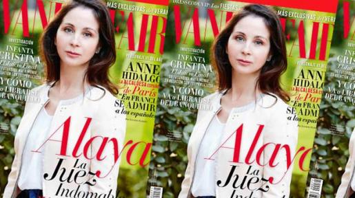 La juez Alaya, en la portada de Vanity Fair.