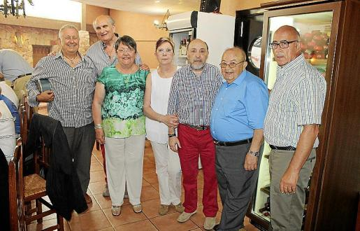Andreu Alba, Pedro Tarrasa, Mª Carmen García, María Bover, Bautista Solano, Jesús del Cerro y Pedro Castañer.