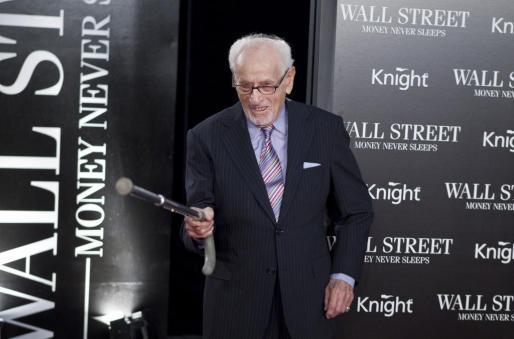 Eli Wallach, en una imagen tomada en 2010.