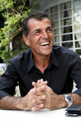 El director deportivo del RCD Mallorca durante una entrevista concedida a Ultima Hora.