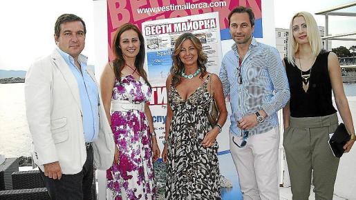 Demetrio Madrid, Idoia Ribas, Isabel Hernández, Patrick Popp y Tatiana Davzhinets.