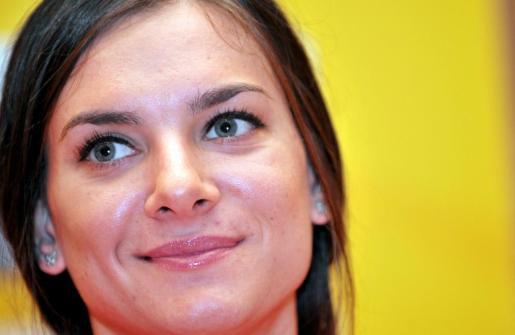 La atleta rusa Elena Isinbayeva.