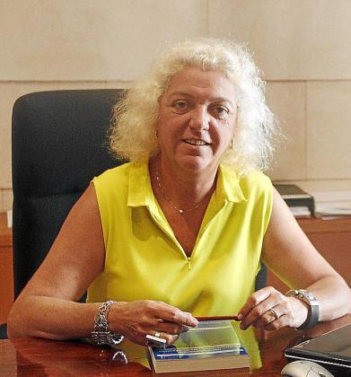 Silvia Núñez, decana del Colegio de Registradores en Balears.