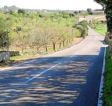 A finales de julio se realizará el mantenimiento de la carretera Sant Llorenç-Son Carrió.