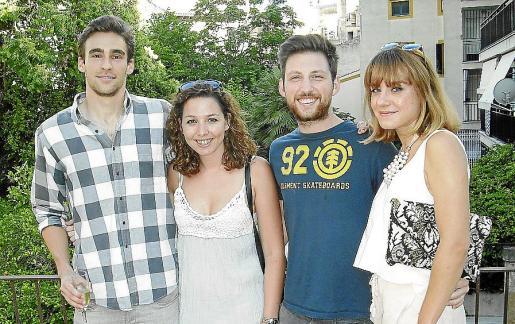 Philipp Schoenherr, Silvia Thomás, Guillem Mascaró e Isabel Blokker.