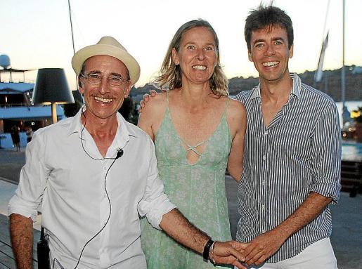 Enric Ases, Paloma Lemm y Antoni Zaforteza.