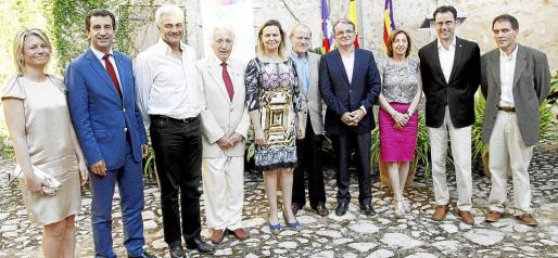 Nuria Riera, Gabriel Company, Jaume Isern, Luis Ramallo, Maria Salom, Angel Morillas, Joan Rotger, Margalida Roig, Jaume Joan y Tomeu Deia.