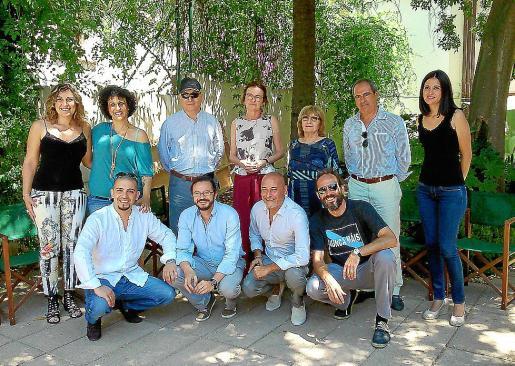 Algunos de los participantes en Accions'14 de Lloseta.