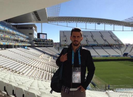Jorge 'Topo' López, en una imagen de su cuenta de Twitter.