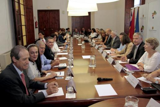 Imagen de la reunión del Consejo Asesor de Turismo.