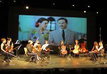 La Chamber Film Orchestra, durante un concierto.